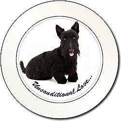 Scottish -Terrier-Hund - With Love AutovignetteGenehmigungsinhaber Geschenk