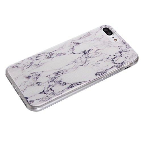 iPhone 7 Plus Totem Case, Per Apple iPhone 7 Plus Cover Silicone, Asnlove Custodia Crystal Case 3D Flessible TPU Silicone Lucida Trasparente Bumper Gomma Caso Stilosa Custodia di Design in Morbido TPU Color3
