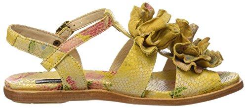 Neosens S943 Fantaisie Floral Jaune Aurora, Sandali T-strap Donna Multicolore (jaune Floral)