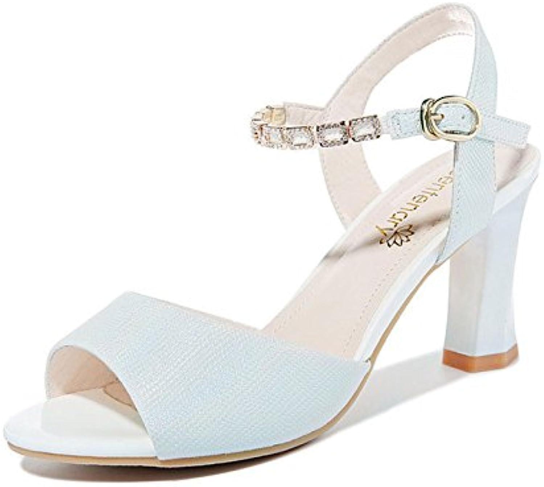 rugai-ue talons, talons hauts, mesdames les sandales à talon, été été été sandales, peu frais des chaussures de femme.b07d68qjys parent | Spécial Acheter  0b665d