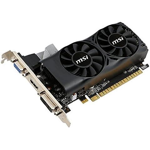 MSI N750TI-2GD5TLP NVIDIA GeForce GTX 750 Ti 2GB - Tarjeta gráfica (Activo, LP, NVIDIA, GeForce GTX 750 Ti, GDDR5, PCI Express x16 3.0)