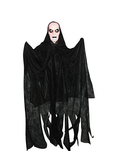 JOKA International Halloween Deko Hängegeist mit Leuchtgesicht Mann 15900