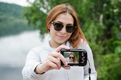 Polaroid Digitalkamera iE090 18MP schwarz/blau - 5