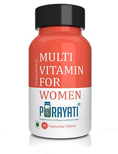 Purayati Multivitamin Tablets for Women - 90 Count