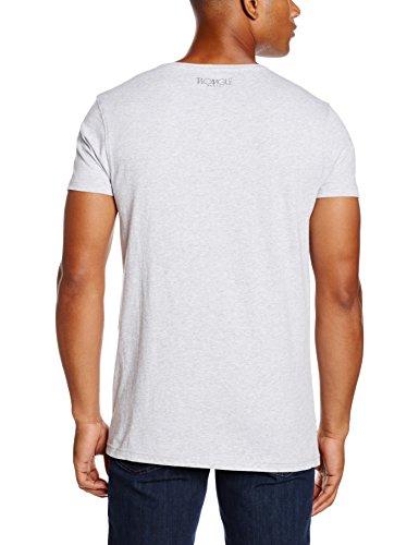 Two Angle Herren T-Shirt Bakour Grau