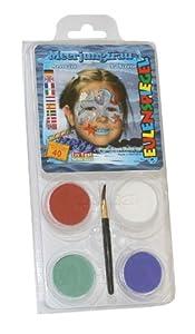 Eulenspiegel - Pintura facial unisex a partir de 3 años (Eulenspiegel 204528)