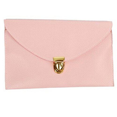 Nuovo Sacchetto Di Spalla Della Catena Sacchetto Quadrato Del Sacchetto Del Messaggero Pink