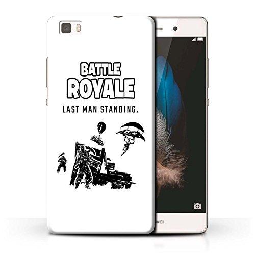 Stuff4® Hülle/Case für Huawei P8 Lite/Last Man Standing Muster/FN Battle Royale Kollektion