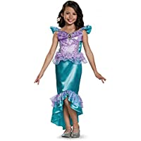 Disguise Ariel Classic Disney Princess The Little Mermaid Costume, X-Small/3T-4T