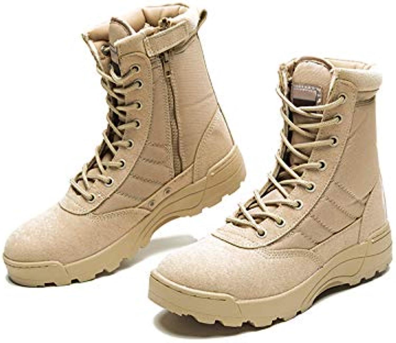 LOVDRAM Stivali da Uomo Uomo Uomo Army stivali Men's Special Forces Stivali Sportivi in Pelle Stivali Alti Impermeabili...   Imballaggio elegante e stabile    Scolaro/Ragazze Scarpa  a9f2f7
