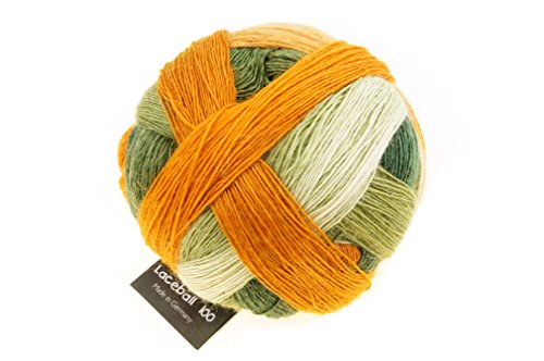 Schoppel-Wolle Zauberball 100–Comfort Zone, Wolle, 2330 Autumn Champion, 11 x 11 x 9 cm (Stricken Streifen Wolle)