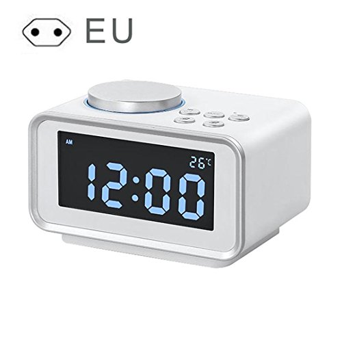 NAOZHONG 1Pcs Led Reloj Despertador Digital Radio