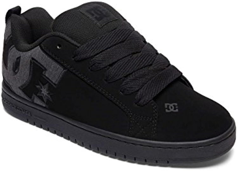 DC Shoes Herren Court Graffik S Flach  White Smooth  21.5 EU