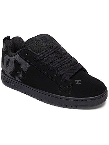 Sneaker S Graffik Destroy M Court Shoes Wash Gris Dc taglia Black qXfa6xB