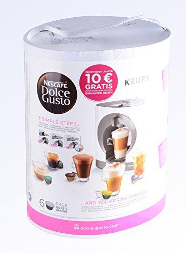 NESCAFÉ DOLCE GUSTO Oblo KP1101 Macchina per Caffè Espresso e altre bevande Manuale White di Krups 6