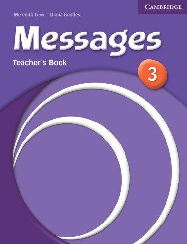 Messages 3 Teacher's Book