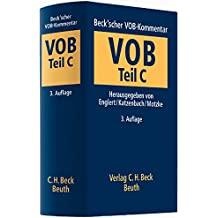 Beck'scher VOB-Kommentar  Vergabe- und Vertragsordnung für Bauleistungen Teil C: Allgemeine Technische Vertragsbedingungen für Bauleistungen (ATV)
