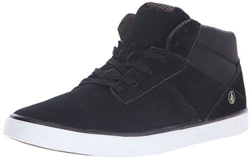 Volcom Grimm Mid 2 Shoe, Scarpe da Ginnastica Uomo, Nero (Schwarz (Black Gum)), 44 EU