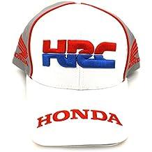 Honda HRC Moto GP Team Large Logo blanco Gorra Oficial 2017 9a48d0917bd
