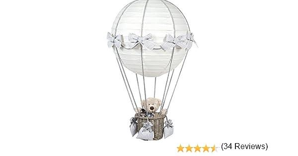 Lustre Montgolfi/ère Ballon Nounours Chambre denfant