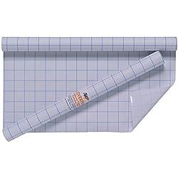 3rotoli di pellicola autoadesiva trasparente per copertine e rivestimenti, 33 cm x 3 m