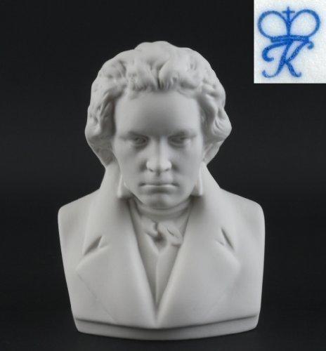 Busto Di Figurine Di Porcellana Ludwig van Beethoven