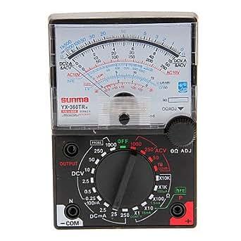 TTAYuan yX 360TRN testeur m electric-multimètre numérique m multitester analogique-bracelet analogique multimètre