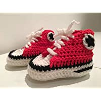 Baskets type converse crochet chausson