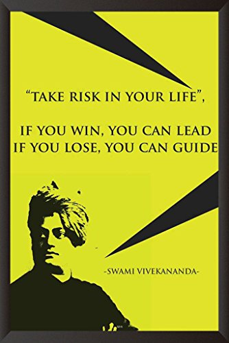 HungOver Swami Vivekanand Poster Home & Office  available at amazon for Rs.599