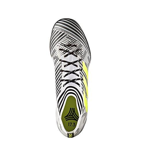 adidas Herren Nemeziz Tango 17.3 Tf Fußballschuhe blanc/jaune fluo/noir