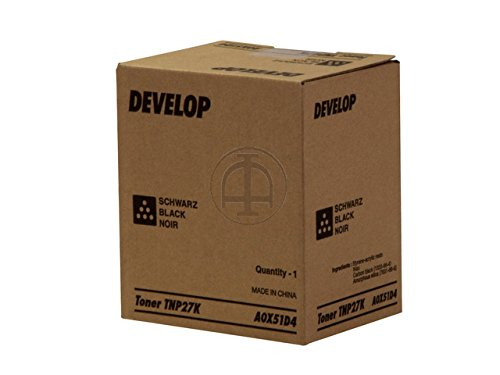 Preisvergleich Produktbild Develop A0X51D4 Ineo+25 TNP27K Toner, 6000 Seiten, schwarz