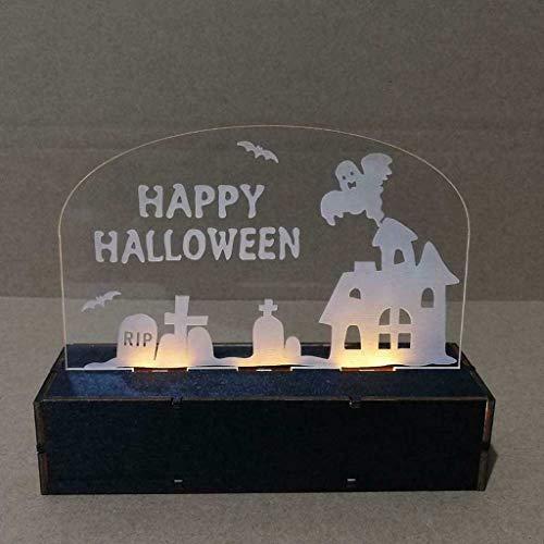 Mitlfuny Halloween coustems Kürbis Hexe Cosplay Gast Ghost Schicke Party Halloween deko,Haunted House Hexe Kürbis Mann geformte LED Lichter Home Festival Party (Spider Mann Paare Kostüm)