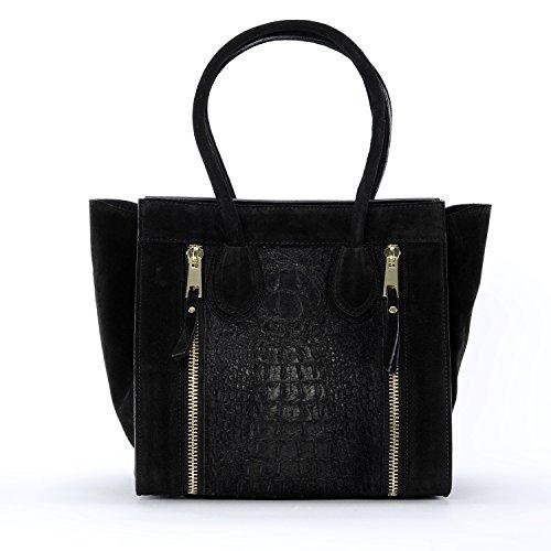 OH MY BAG Sac à Main femme en cuir porté main et épaule Modèle Alma Nouvelle collection - SOLDES