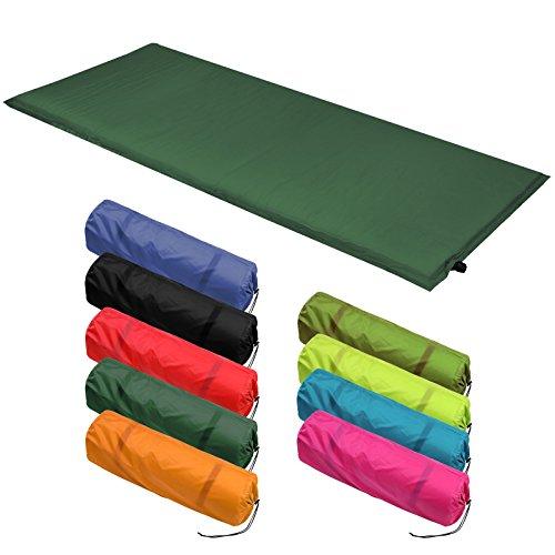 Isomatte Selfinflating - Matte verschiedene Größen, Farbe:grün;Maße:200 x 66 x 10 cm