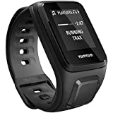 TomTom Runner 2 Music + Auriculares- Reloj deportivo con música y auriculares, color negro / gris, talla S