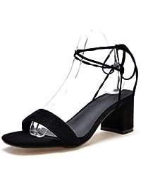 YMFIE Metal Fine decoration banquet parti le tempérament des chaussures à talons pointus de style européen mesdames sandales.34 EU,un