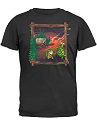 Grateful Dead - Mens Covered Wagon Pine T-shirt