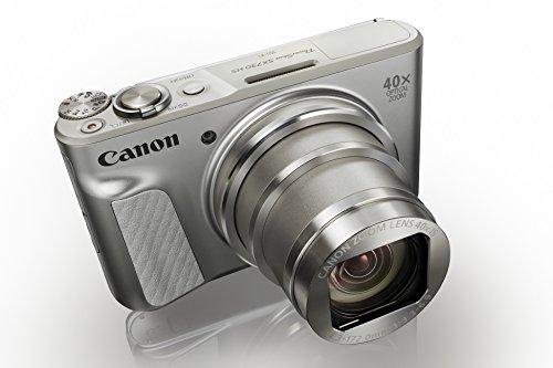 Canon 1792c002 Powershot Sx730 Hs Digitalkamera (20,3mp Cmos-sensor, Lcd-display, 40 Fach Zoom, Full Hd, Wlanbluetooth, 7,5 Cm (3 Zoll)) Silber