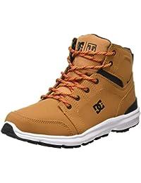 DC Shoes Torstein - Botas de Invierno de Cuero con Cordones para Hombre