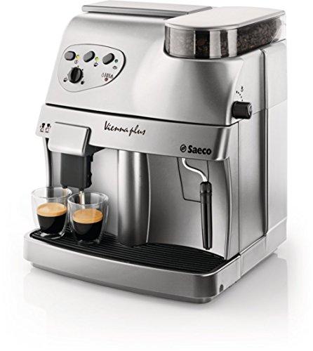 Saeco Vienna ri9737/20freistehend vollautomatisch Maschine Espresso 1.7L Silber-(freistehend, Maschine Espresso Kaffeemaschine, silber, Tasse, 1,7l, Kaffeebohnen)
