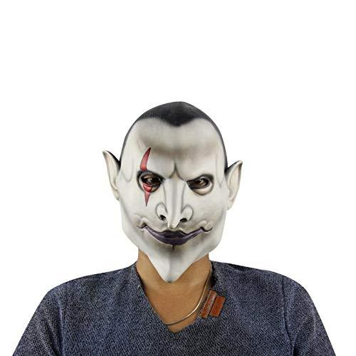 (Kingprost-Toy Halloween Masken Erwachsene VerrüCkter Geist Maske Terror Clown Horror Kopfmaske)