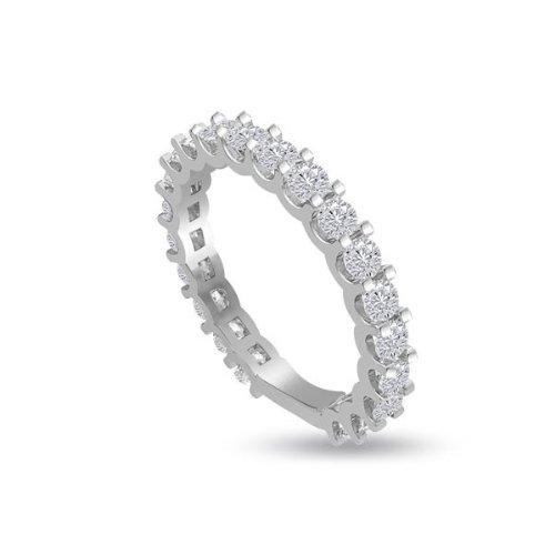 1.05ct G/SI1 Diamante Full Eternity Anello da
