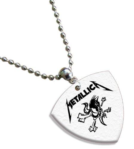 Metallica Bass (1mm Heavy gauge) Gitarre Pick Plektron Kette -
