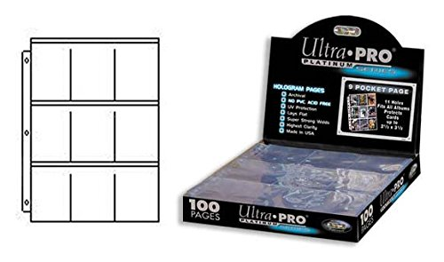 Ultra Pro 9 Pocket Pages Platinum Series (Pro 9 Pocket)