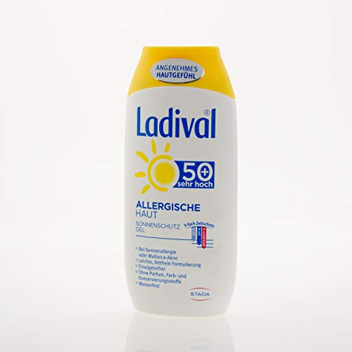 Ladival Allergische Haut LSF 50, 200 ml Gel