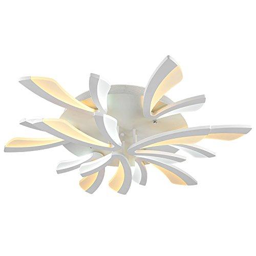 Euroton LED Deckenleuchte XW062-White mit Fernbedienung Lichtfarbe/Helligkeit einstellbar A+