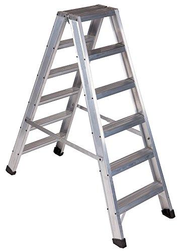 Arcama ETD6 - Escalera tijera doble acceso industrial (6 peldaños)