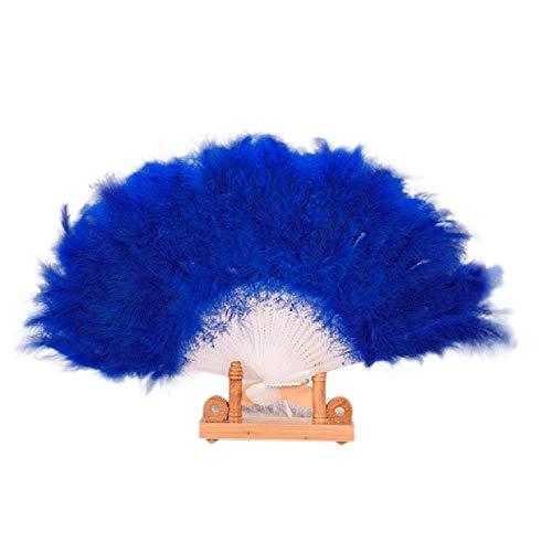 Flauschige Würfel Kostüm - MOTOCO Damen Faltfächer Blumenmuster Seidenfächer Handfächer Eleganter Tanzfächer Hochzeitsdekoration