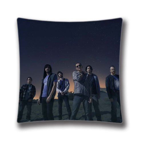 65 PPCC Modern Spring Decorative Square Pillow Cases Throw Pillow Covers Linkin Park Cushion Covers for Sofa,Art9255 Kissenbezüge - Square Bath Lighting