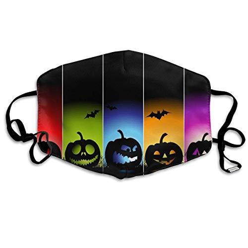 Daawqee Staubschutzmasken, Cool Pumpkin Halloween Breathe Healthy Face Mask.Comfortable, Reusable - Filters Dust, Pollen, Allergens, Flu Germs with Antimicrobial Germ Killing